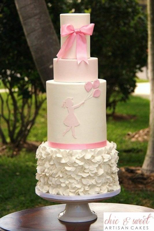 gender reveal cake boca raton
